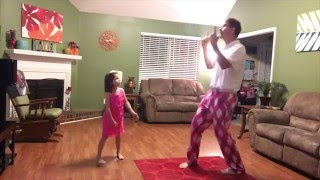 """Daddy/Daughter Dance to """"Can't Stop The Feeling!"""" @jtimberlake #JTSXMContest"""