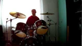 Dédapám Skorpió drum cover instrumental