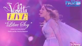 Violetta Live - Libre Soy (Live Instrumental)