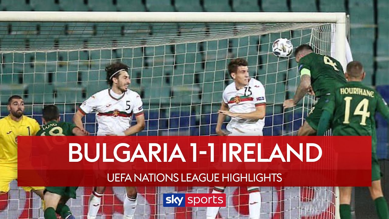 Shane Duffy grabs last minute equaliser | Bulgaria 1-1 Ireland | Highlights | UEFA Nations Leagu