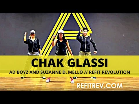 "REFIT Dance Fitness ""Chak Glassi"" Bollywod Fusion"