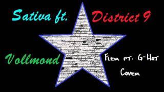Sativa ft. District 9 - Vollmond [Fler ft. G-Hot Cover]