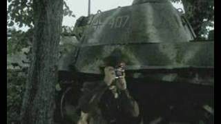 WWII komissar greenscreen test