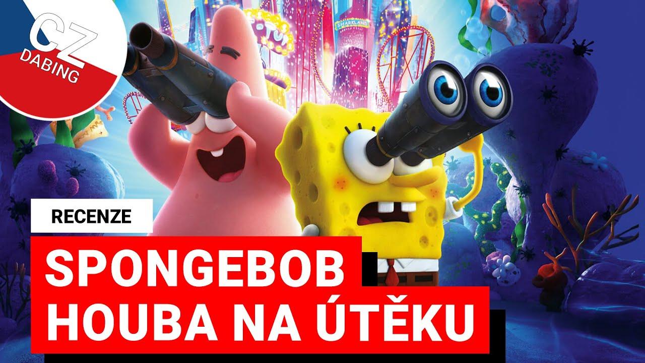 RECENZE: SpongeBob ve filmu: Houba na útěku - Animák pouze pro fanoušky?