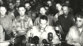 Signing of the Korean War Armistice