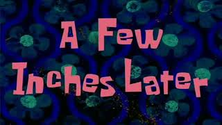 "Back Sound Video SpongeBob "" A Few Moments Later """