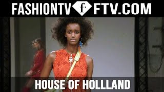 House of Holland Spring 2016 Collection London Fashion Week | LFW | FTV.com