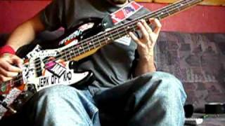 the idiots are taking over intro bass cover