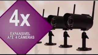 Vídeo Porteiro Intelbras EHM 608 - Visão Noturna sem Fio Bivolt