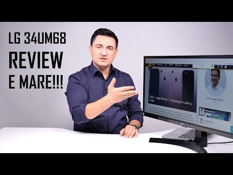 UNBOXING & REVIEW - LG 34UM68 - Monitor de gaming UltraWide