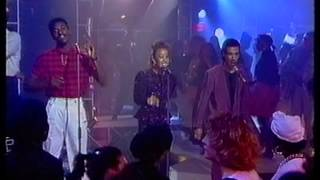 Club Nouveau Live on UK TV performing Bill Withers Cover Lean on Me