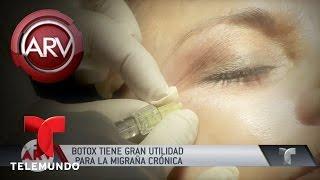 Tratamiento de botox para las cefaleas y migrañas | Al Rojo Vivo | Telemundo