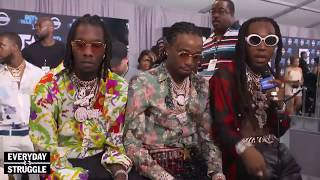 Migos and Joe Budden Almost FIGHT During BET AWARDS Interview As DJ Akademiks Tries to Stop It
