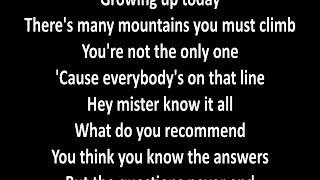 Richie Sambora - Ballad Of Youth with lyrics