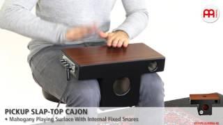 MEINL Percussion - Pickup Slap-Top Cajon (PTOPCAJ4MH-M)