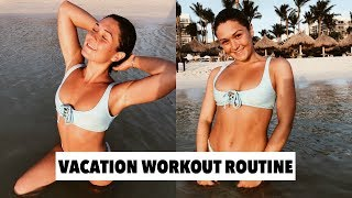 HOW I STAY FIT AND HEALTHY WHILE TRAVELING | Maggie MacDonald