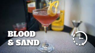 Blood & Sand (Rapidinha) | E Tome Drink!