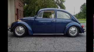 How to Lower a 1970 VW Beetle , Front and Rear