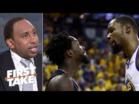 f38779d1aacf Kevin Durant has  gotta watch himself  after Game 1 ejection – Stephen A.