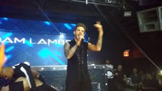 Adam Lambert Ghost town live at marquee