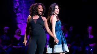 Ana Villafañe and Shanice Williams sing 'I'll Cover You' from RENT