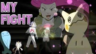 「AMV」 Mimikyu vs Pikachu - My Fight