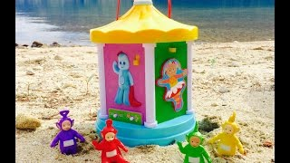 TELETUBBIES Toys Musical IN THE NIGHT GARDEN Carousel!
