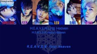 VIXX - Heaven [ENG/Color Coded/HAN/ROM Lyrics]