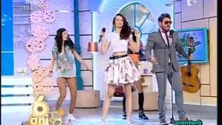 "Premieră! Tom Boxer si Morena feat. Juliana Pasini - ""Vamos a Bailar"" - Neatza cu Razvan si Dani"
