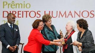 A luta pelos direitos humanos é de fundamental importância, afirma Dilma