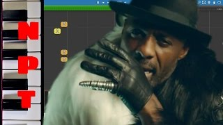 Macklemore & Ryan Lewis - Dance Off feat. Idris Elba - Piano -  Instrumental Karaoke  - Tutorial