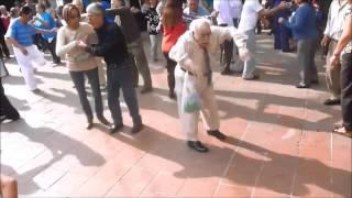 Old Man Dancing to #shutyourtrap