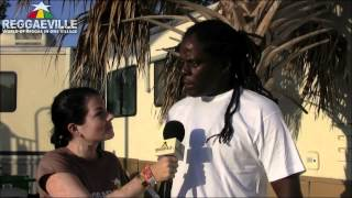 Interview: Richie Spice @ 9 Mile Music Festival in Miami, Fl 3/3/2012