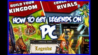 Kingdoms At War - How To Get LEGENDS on PC
