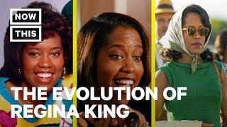 The Evolution of Regina King   NowThis