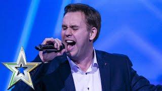 Barry Darcy gets Louis's GOLDEN BUZZER with tear jerking performance | Ireland's Got Talent 2019
