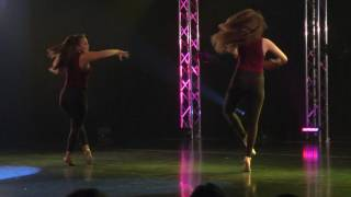 2017 HRHS Dance Recital   F6 Crazy in Love duo