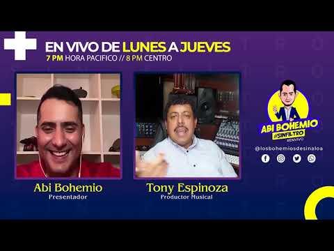 😎 TONY ESPINOZA | #SINFILTRO 🔥 | EL PRODUCTOR DE ÉXITOS 👌