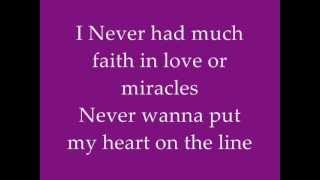 Megan Nicole & Sam Tsui-Locked outta heaven (lyrics)