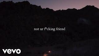 Jeremy Zucker - not ur friend (Official Lyric Video)