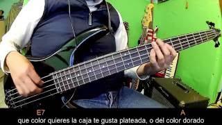 El Toro Encartado- Letra y Acordes  Ariel Camacho- Bass Cover