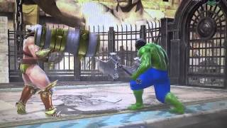 Soul Calibur V Shao Khan Vs Hulk