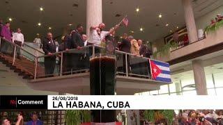 Un cuba Libre géant à La Havane