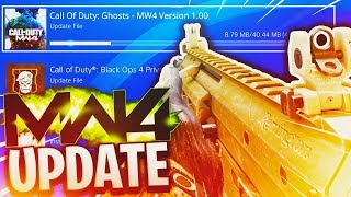 NEW 1.21 UPDATE on Call of Duty Ghosts RIGHT NOW...(MW4) width=