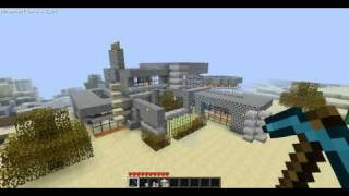 Minecraft Cribz - Futuristic Modern House Design with Commentary