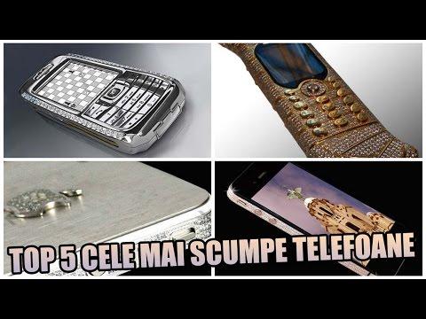 TOP 5 CELE MAI SCUMPE TELEFOANE