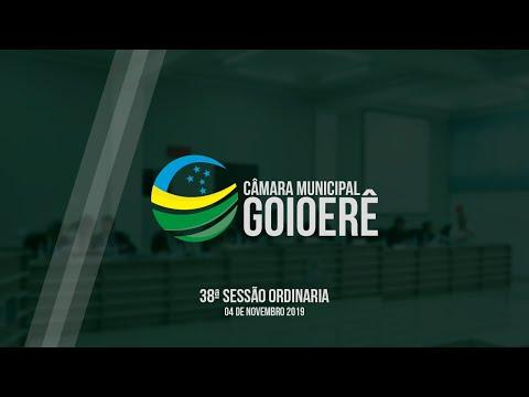 Vídeo na integra da sessão desta segunda-feira, 04 dos vereadores de Goioerê