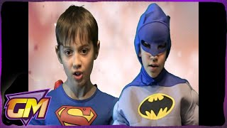 Superman V Batman Kids Rap Battle