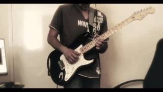 Another brick in the wall Guitar slap solo width=