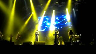 Salvador y los Eones - Cenizas (Viña Real Fest Pepsi Center 07Jul2012)